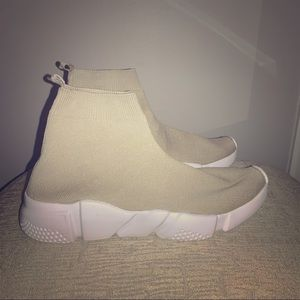 Shoes - Nude ankle athletic shoes